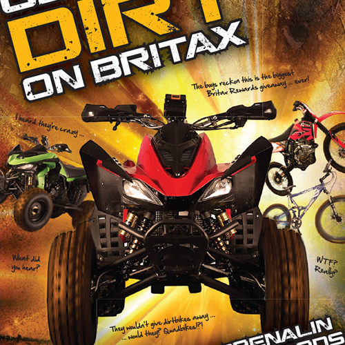 Britax Get The Dirt Promotion