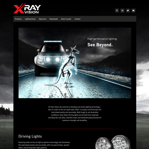 Xray Vision Website