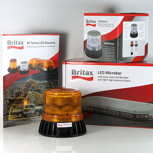 Britax Beacon Packaging