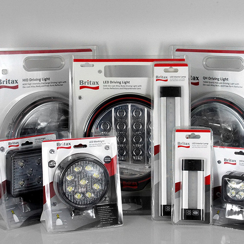 Britax Lighting Packaging