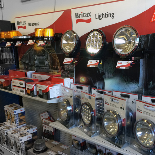 Britax Beacons and Lighting Merchandising