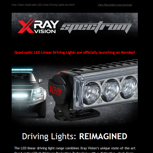 Xray Vision Email Campaign