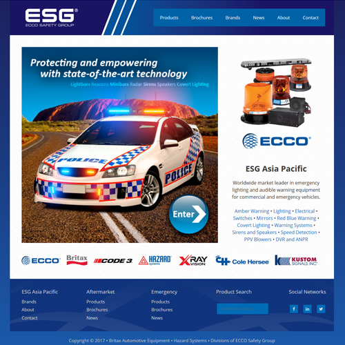 ESG Asia Pacific Website