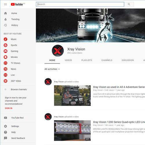 Xray Vision YouTube