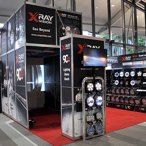 Xray Vision Event Signage and Displays