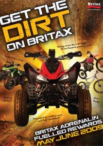 Dirt bike redemption promotion